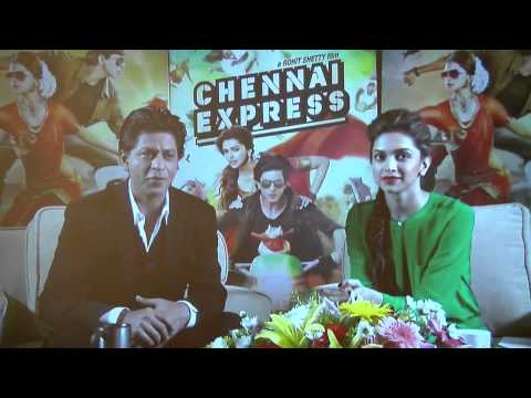 chennai-express-satellite-press-conference-nyc-by-shazya-entertainment---video-news-release