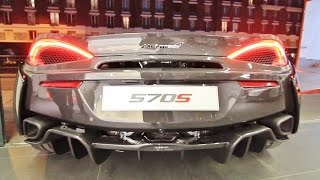 McLaren 570S SOUND ! Start Up, Loading and Overview