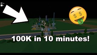 How to get easy money in Theme Park Tycoon 2   ROBLOX