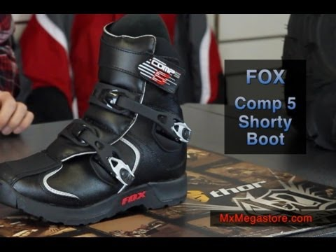 2014 fox comp 5 shorty dirt bike atv boot review by youtube. Black Bedroom Furniture Sets. Home Design Ideas