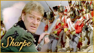 Sharpe Leads The Attack On The French | Sharpe