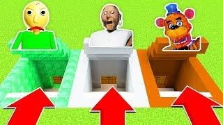 DO NOT CHOOSE THE WRONG SECRET BASE! (BALDI'S BASICS,GRANNY,FNAF) (Ps3/Xbox360/PS4/XboxOne/PE/MCPE)