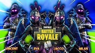 VOLLEDIGE RAVEN & RAVAGE SKIN SQUAD!! - Fortnite Battle Royale (SQUADS)