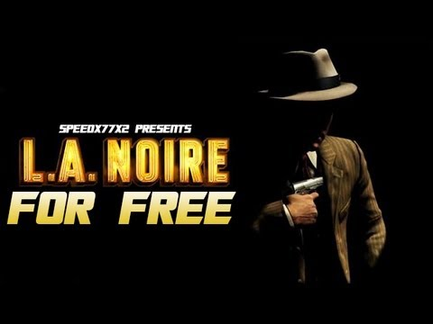How to Get L.A. Noire For Free For PC! + Gameplay