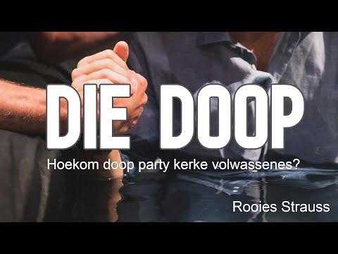 Die doop   Rooies Strauss   School of fire