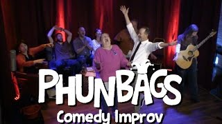 Stage 18 Live - Phunbags Comedy Improv April 8th 2017