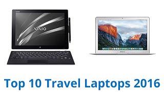 10 Best Travel Laptops 2016