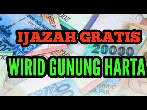 Ijazah Gratis Wirid Gunung Harta