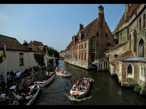 Bruges, Belgium - June 5, 2016 - Emerald Princess
