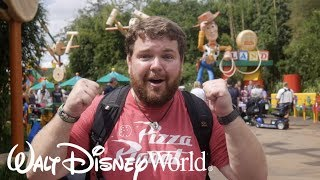 First Trip to Toy Story Land - Disney World Vlog