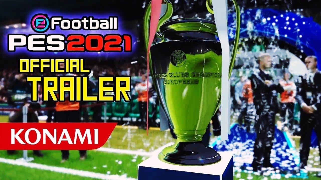PES 2021- MELHOR TRAILER EVER (BEST TRAILER EVER) 60FPS