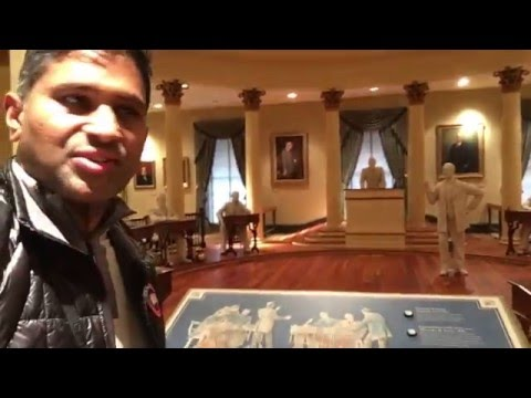 Visiting Old Capitol, Jackson, Mississippi