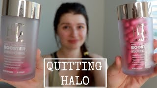 QUITTING HALO BEAUTY VITAMINS + SKIN UPDATE