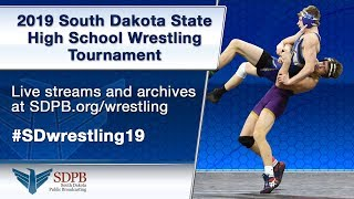 2019 Class B Wrestling Saturday - Session 1 - Mat 5