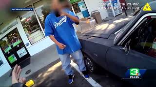 Sacramento Police Release Body Cam Video Of