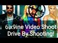 Drive By Shooting at 6ix9ine Kanye West and Nicki Minaj Video Shoot