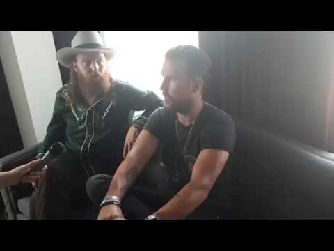 Kendra sits down with John and TJ or Brothers Osborne