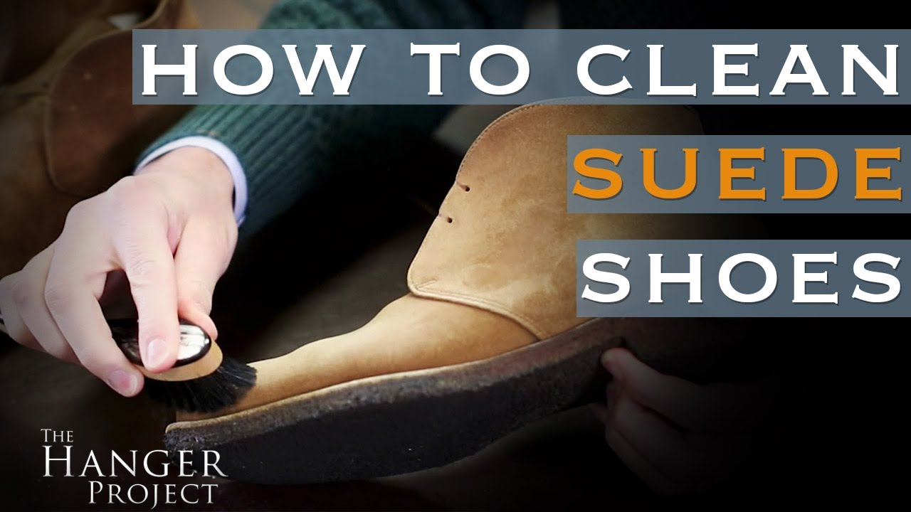 How To Clean Suede Shoes You