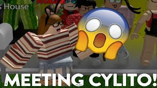 ROBLOX | Welcome To Bloxburg: Meeting Cylito! (She followed back)