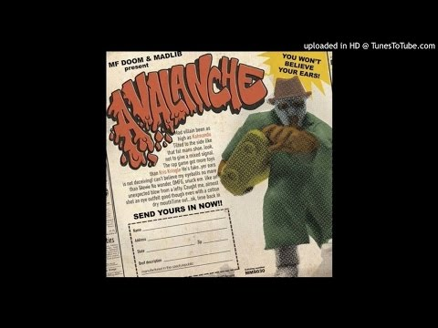 Madlib and MF Doom - Avalanche