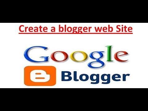 Create blog web site Part 1