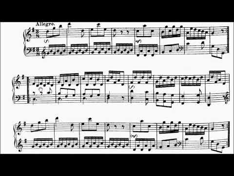 ABRSM Piano 2019-2020 Grade 2 A:6 A6 Haydn Allegro Sonata In G XVI:8 Movt 4 Sheet Music