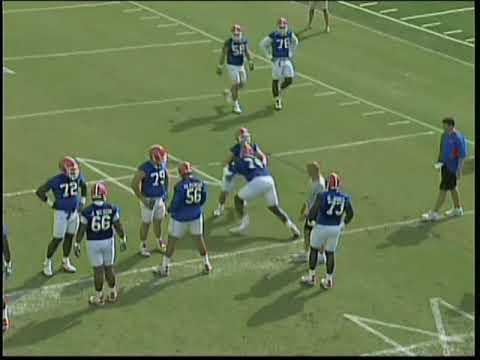 University of Florida Football Drills = 2010 DB's