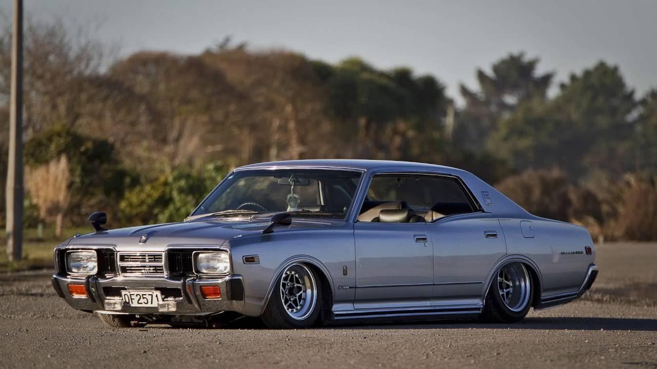 1978 lowrider Nissan Cedric SGL E 4.1 litre V8 ITB's 360hp ...