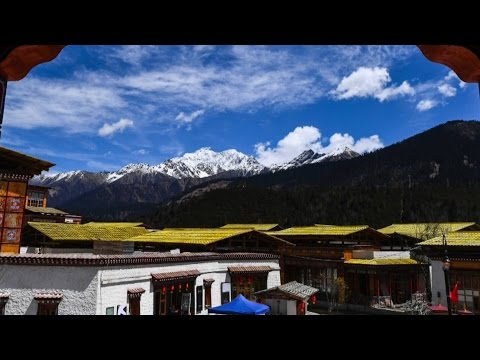 New scenic spot opens in Tibet with amazing scenery