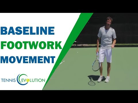 How To Focus Better On The Important Body Parts | TENNIS FOOTWORK TIPS 2018