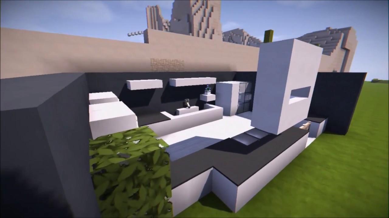 Minecraft Modern Kitchen Youtube