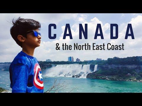 North East Coast and Canada Trip 2017