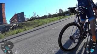 Le Peloton 170628 (crash 08:05 in)