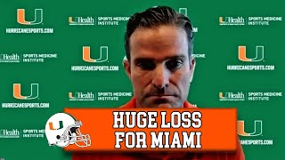 BREAKING NEWS! 🚨 Manny Diaz Reacts to DE Gregory Rousseau Opting Out of 2020 Season | 2021 NFL Draft