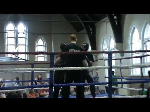 Terry Roberts' kickboxing fight