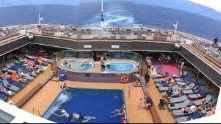 видео Морские круизы на Carnival Vista. Виртуальный тур по новейшему круизному лайнеру.