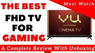 Vu Cinema 43 inch TV 2020 | In-depth Review | Best Gaming TV India