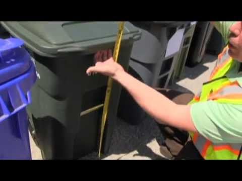 Clarifying Acceptable Garbage Carts for Refuse Collection