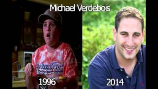 Matilda Actors - Then and Now 2014