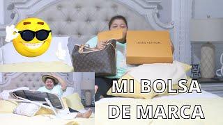 WOW😱... MI PRIMERA BOLSA DE MARCA, LOUIS VUITTON!!! SERÁ BUENA INBER....👍🥰
