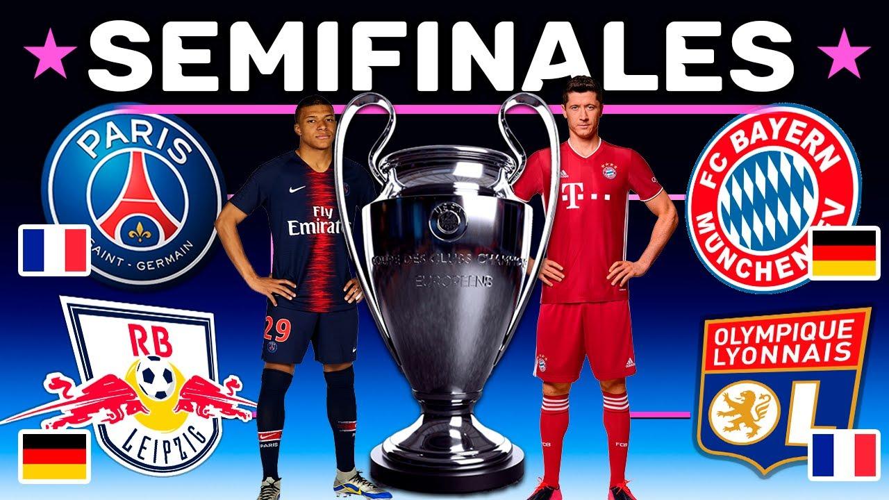 Semifinales CHAMPIONS LEAGUE 2020 - PRONOSTICO Definitivo y Analisis