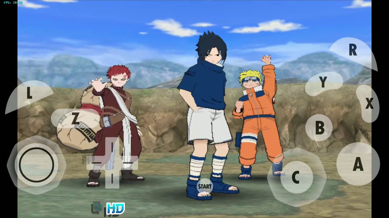 87MB High Compressed | Naruto Gekitou Ninja Taisen 4 GAMECUBE (Dolphin  Emulator Android)