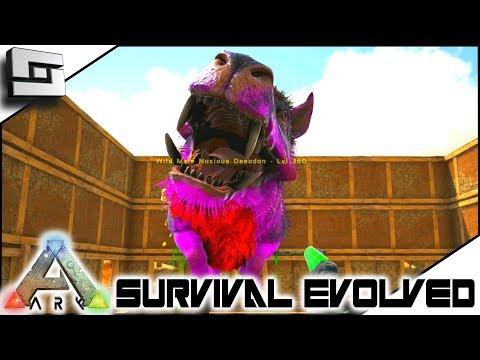 ARK: Survival Evolved - DEATH BY DAEODON! E5 ( Modded Ark Primal Fear )
