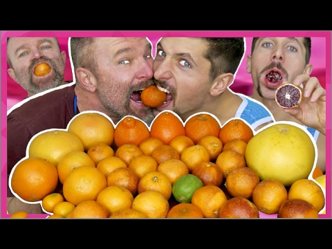 Citrus Fruit Mukbang with Blood Oranges and more.