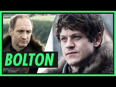 Família BOLTON  GAME OF THRONES