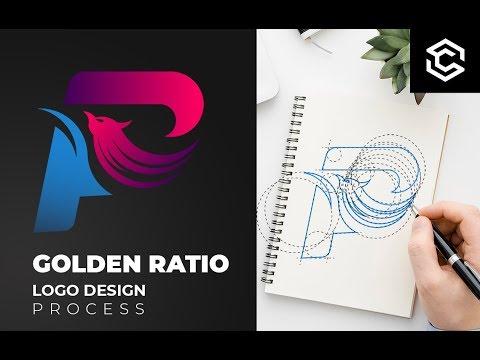 How to make a logo with golden Ratio   Adobe Illustrator Tutorial thumbnail