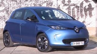 Essai Renault Zoe Gamme 2017 Intens