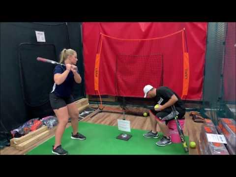 2020 Fastpitch Louisville Slugger Softball Bats Hitting & Demo - RXT, LXT XENO Review!