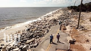 'It's going to be a long recovery': Hurricane Michael leaves devastation behind