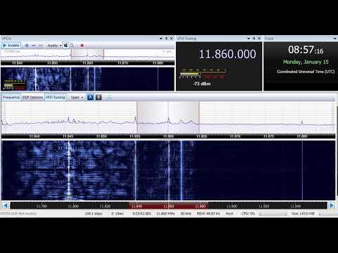 15 01 2018 Republic of Yemen Radio in Arabic to ME 0855 on 11860 unknown tx site